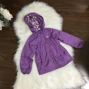 Girls Spring Rain Jacket EUC